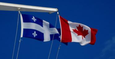 quebec-canada-flags