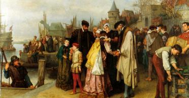 emigration-of-the-huguenots-1566-by-jan-antoon-neuhuys