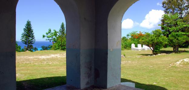 Temple-protestant-ile-de-Lifou-Nouvelle-Calédonie